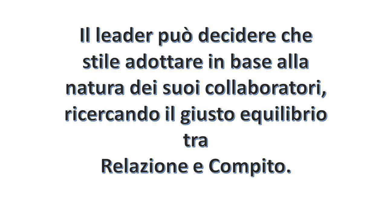 IL LEADER AUTORITARIO MINACCIOSO, FA LEVA SU SANZIONI, COMUNICA GLI ORDINI IN MODO UNIDIREZIONALE, E MANTIENE DISTANZA CON GLI ALTRI IL LEADER AUTORIT