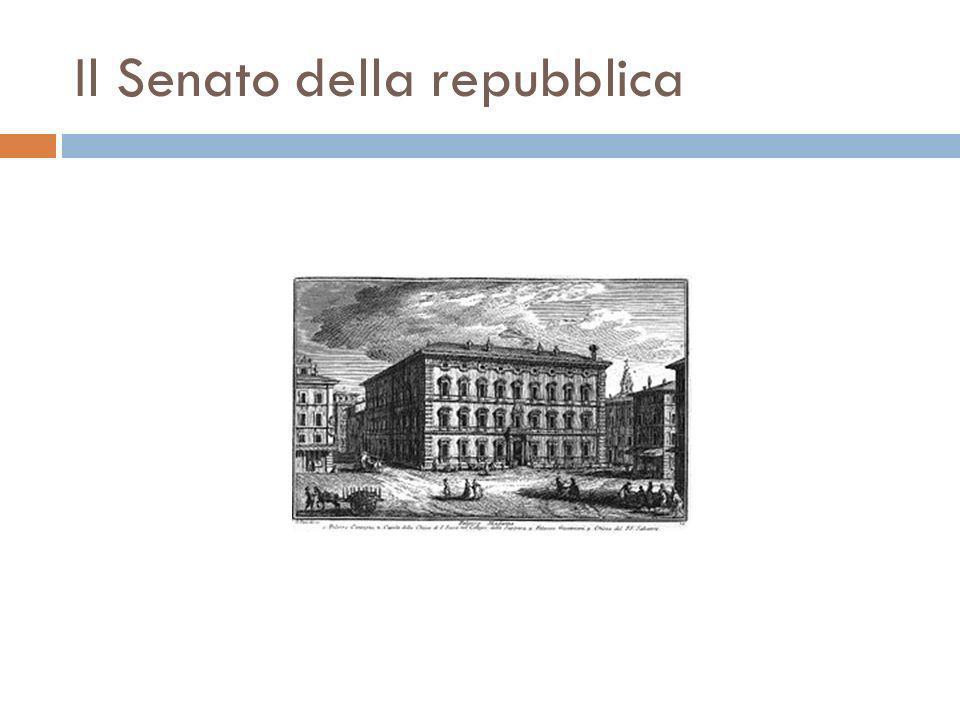 Il Senato della repubblica