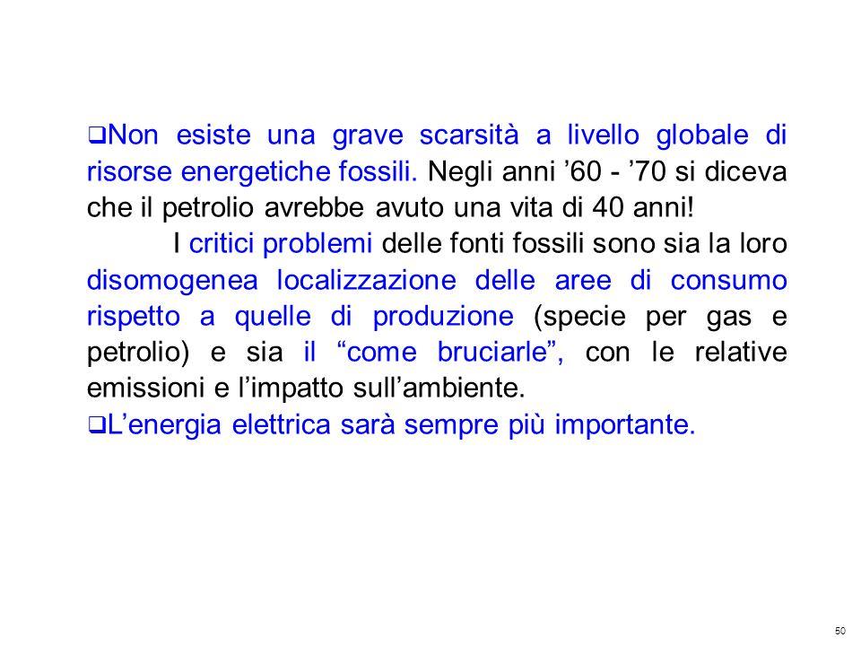 50 Kyoto Club: «L Italia capace di futuro» Roma – 5 dicembre 2011 Non esiste una grave scarsità a livello globale di risorse energetiche fossili.