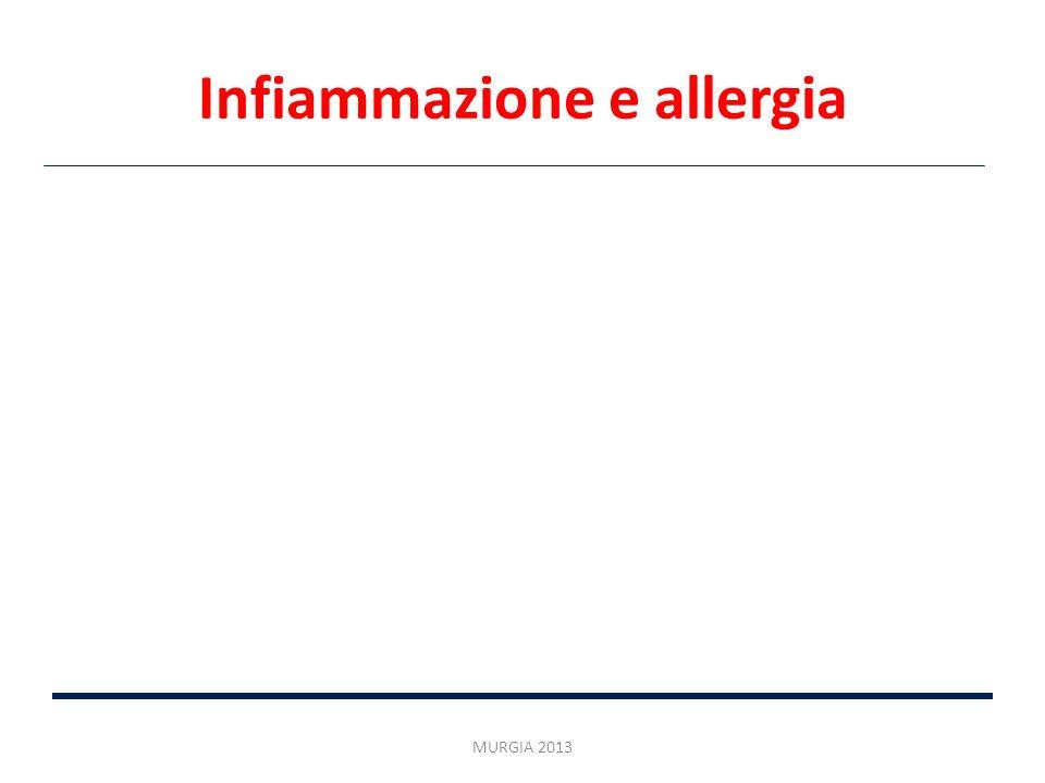 Infiammazione e allergia MURGIA 2013