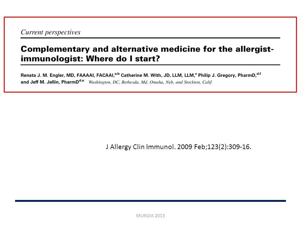 Sfida per il medico: 36% dei pazienti negli USA utilizza già terapie CAM Un altro 50% sta valutando se usarle 17.7% botanicals > 5% dei bambini di età <18 anni usa CAM per asma e allergie.