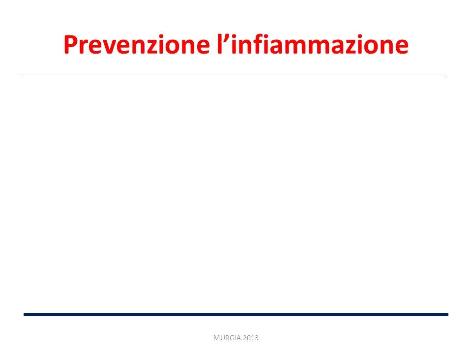 Prevenzione linfiammazione MURGIA 2013
