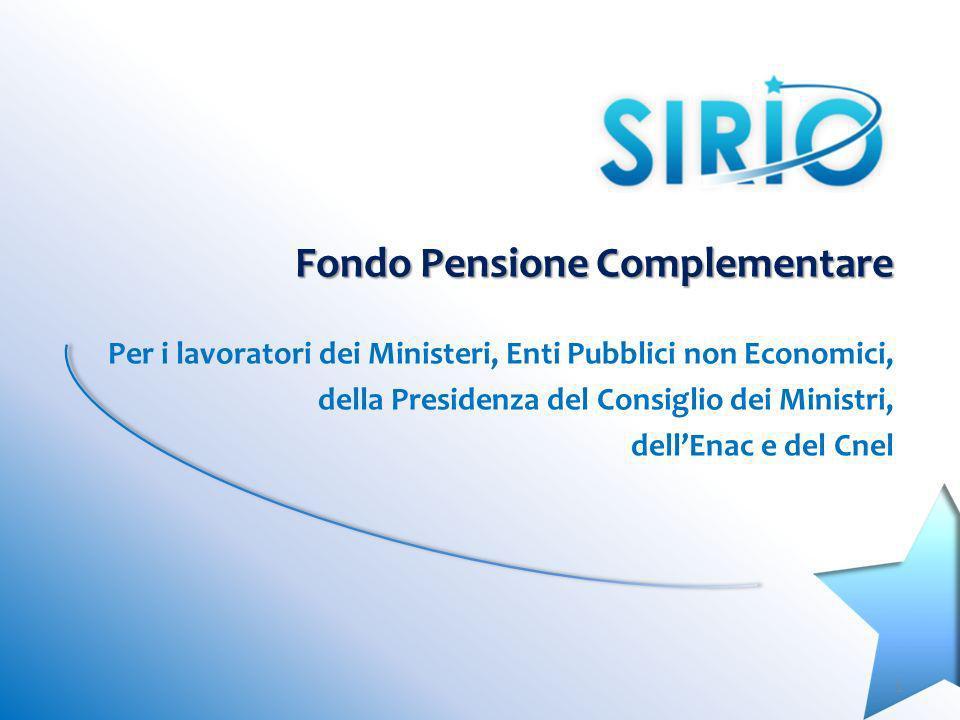 Fondo Pensione Complementare Per i lavoratori dei Ministeri, Enti Pubblici non Economici, della Presidenza del Consiglio dei Ministri, dellEnac e del