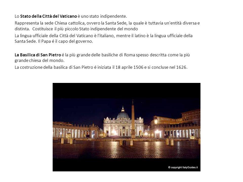 La cupola Con i suoi 136 metri di altezza, i suoi 42 metri di diametro (di poco inferiore però a quello del Pantheon di Roma e i suoi 537 scalini è l emblema della stessa basilica e uno dei simboli dell intera città di Roma Come detto, la cupola fu costruita in soli due anni da Giacomo Della Porta, seguendo i disegni di Michelangelo