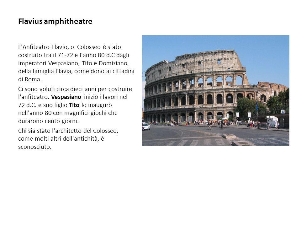 I Romani godevano di spettacoli gratuiti:spettacoli gratuiti: Ai cittadini erano offerti banchetti e spettacoli del circo o dell anfiteatro da parte dei ricchi e famosi.