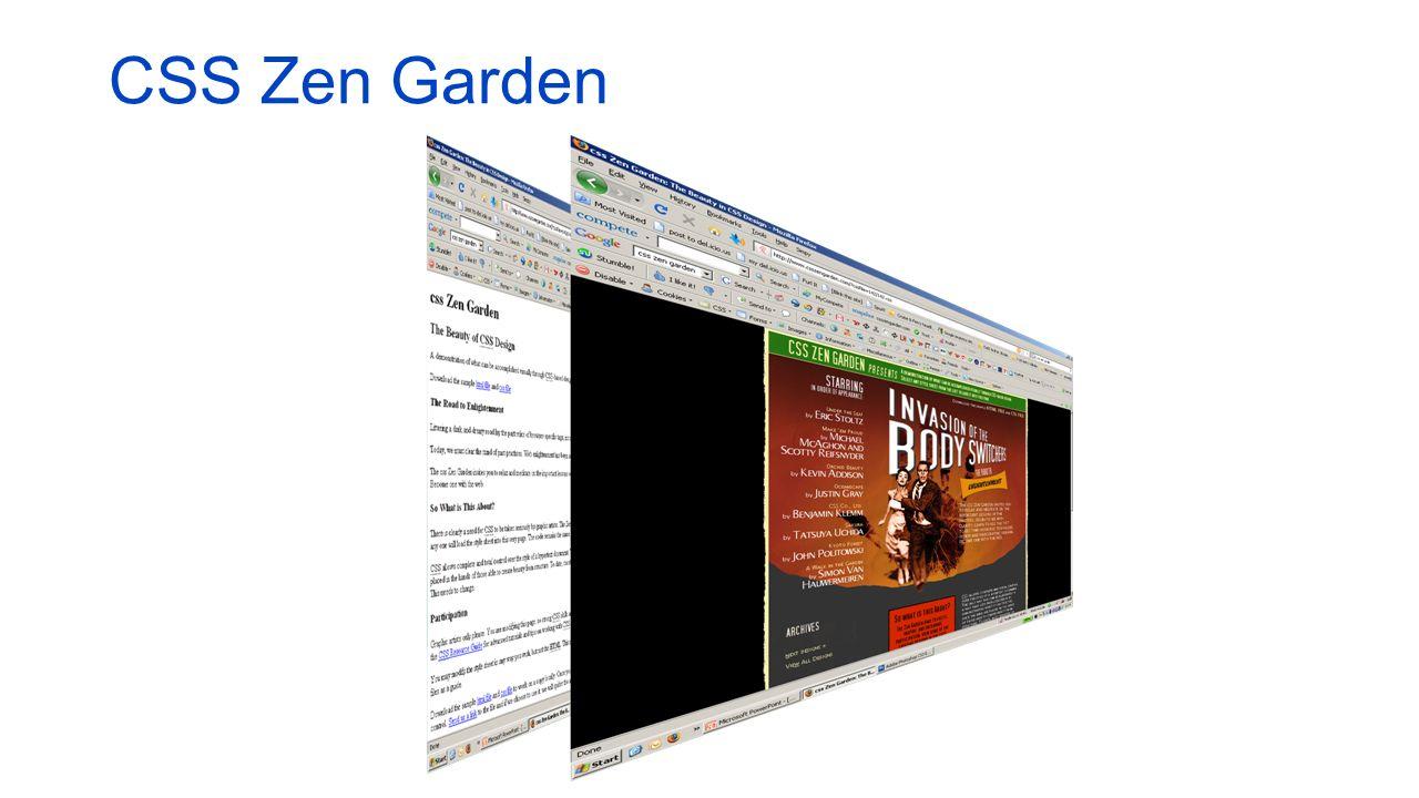 CSS Zen Garden