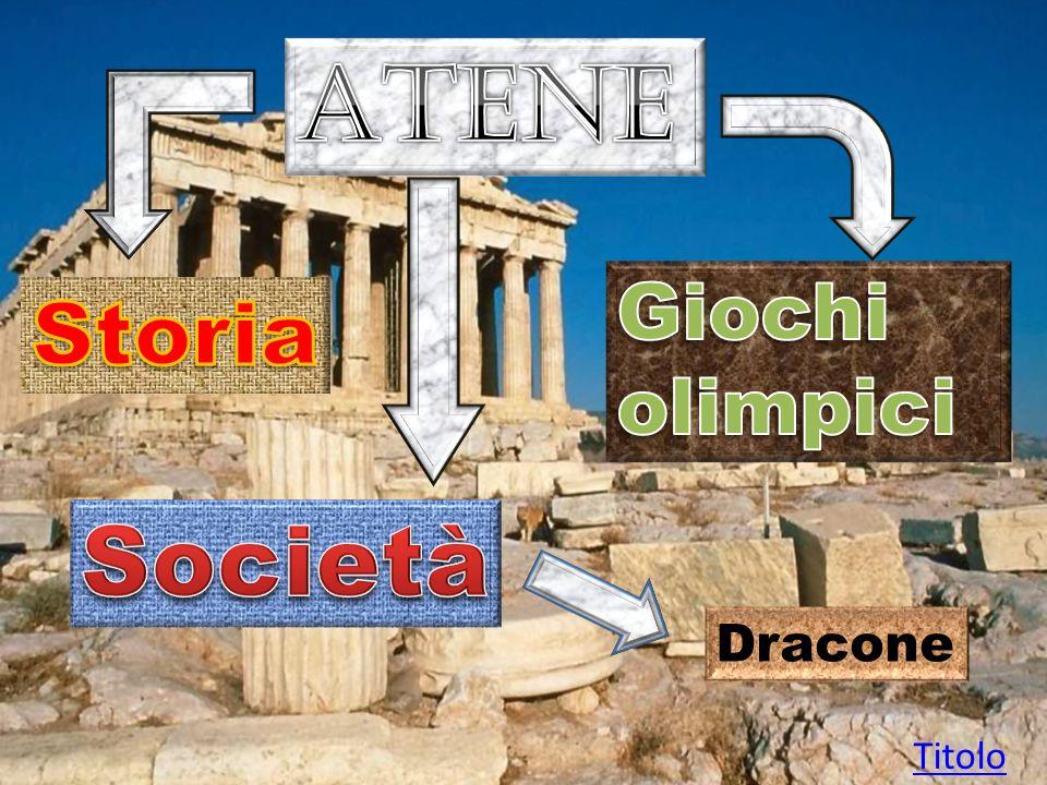 A Atene a controllare la poleis erano in genere gli uomini di poche famiglie nobili di grandi proprietari terrieri: una ristretta aristocrazia dominava sul popolo, formato da contadini, commercianti, artigiani.