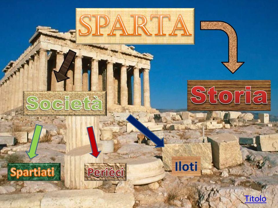 Gli Spartani sottomisero il territorio dei Messeni, sottomisero gli abitanti e li ridussero a servi della gleba (Iloti).