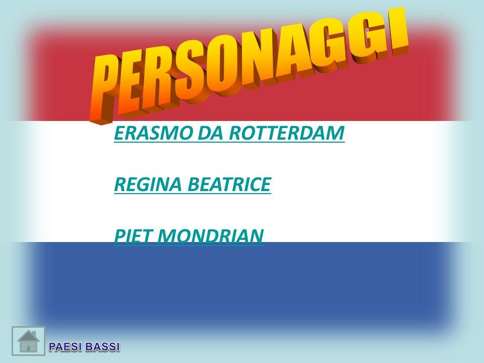 ERASMO DA ROTTERDAM REGINA BEATRICE PIET MONDRIAN