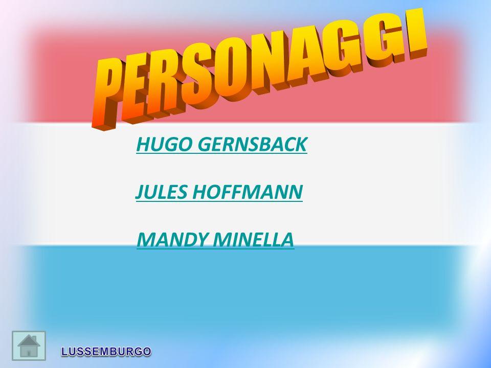 JULES HOFFMANN MANDY MINELLA HUGO GERNSBACK