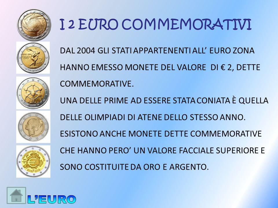 DAL 2004 GLI STATI APPARTENENTI ALL EURO ZONA HANNO EMESSO MONETE DEL VALORE DI 2, DETTE COMMEMORATIVE. UNA DELLE PRIME AD ESSERE STATA CONIATA È QUEL