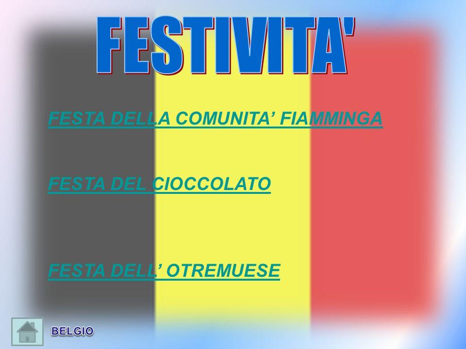 FESTA DELLA COMUNITA FIAMMINGA FESTA DEL CIOCCOLATO FESTA DELL OTREMUESE