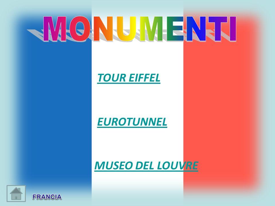TOUR EIFFEL EUROTUNNEL MUSEO DEL LOUVRE