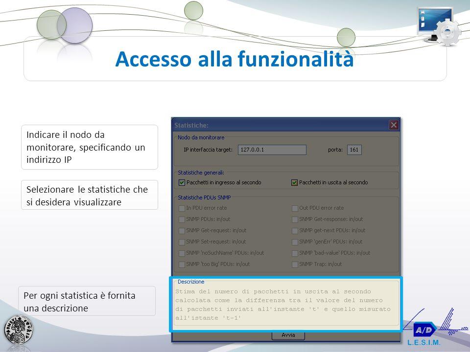 Accesso alla funzionalità