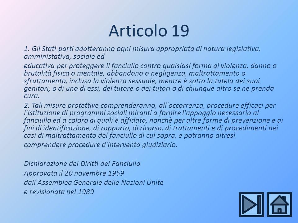 Articolo 19 1.