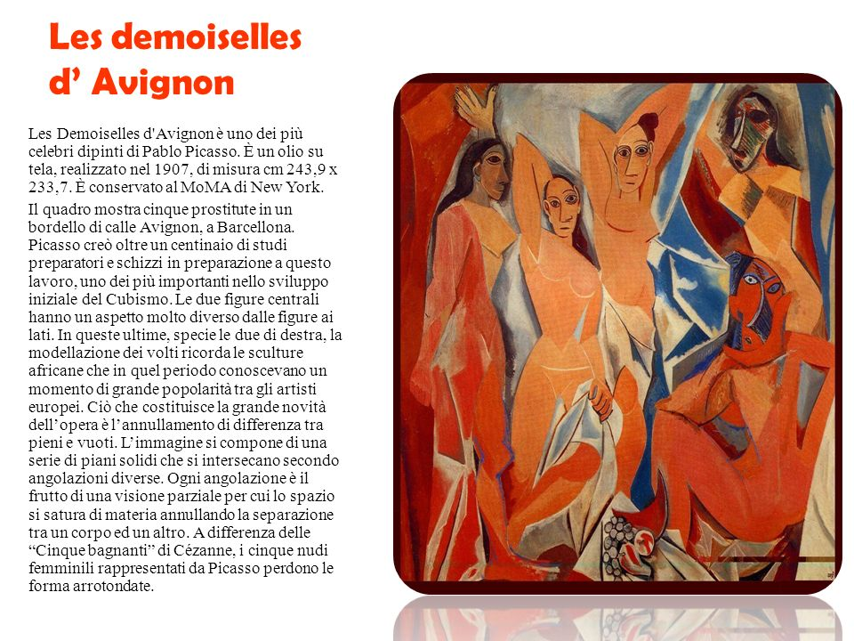 Larte di PICASSO Il lavoro di Picasso è spesso categorizzato in