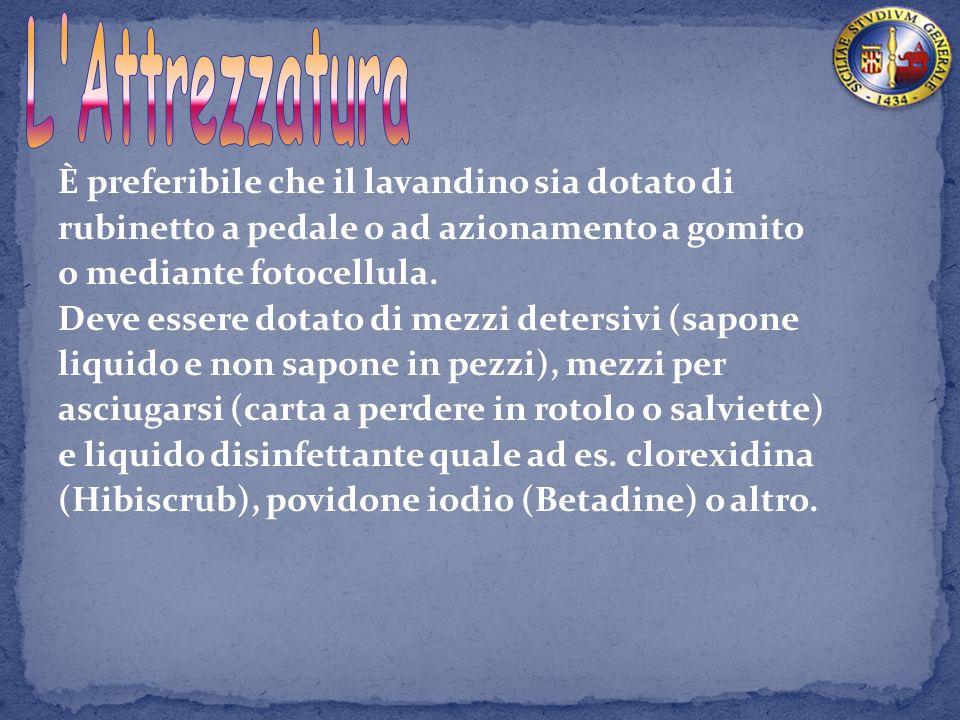 L uso di saponi ed in particolare di antisettici può provocare dermatiti.