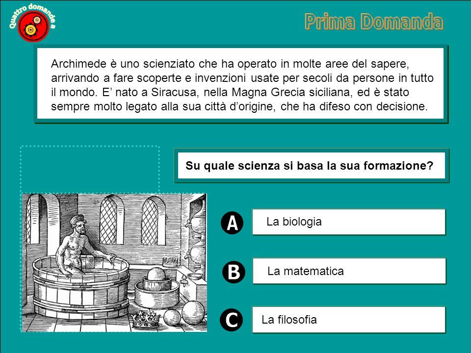 Archimede è uno scienziato che ha operato in molte aree del sapere, arrivando a fare scoperte e invenzioni usate per secoli da persone in tutto il mondo.