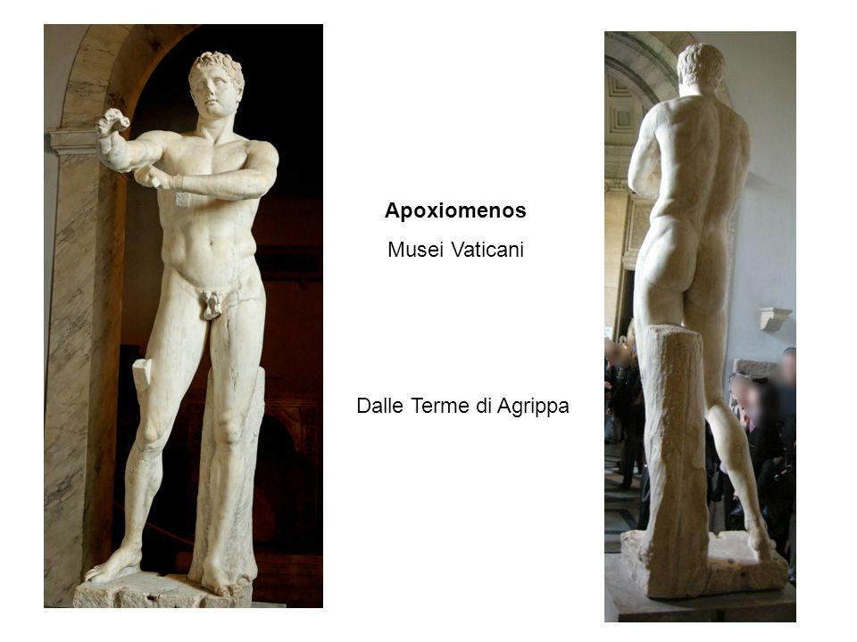 Apoxiomenos Musei Vaticani Dalle Terme di Agrippa