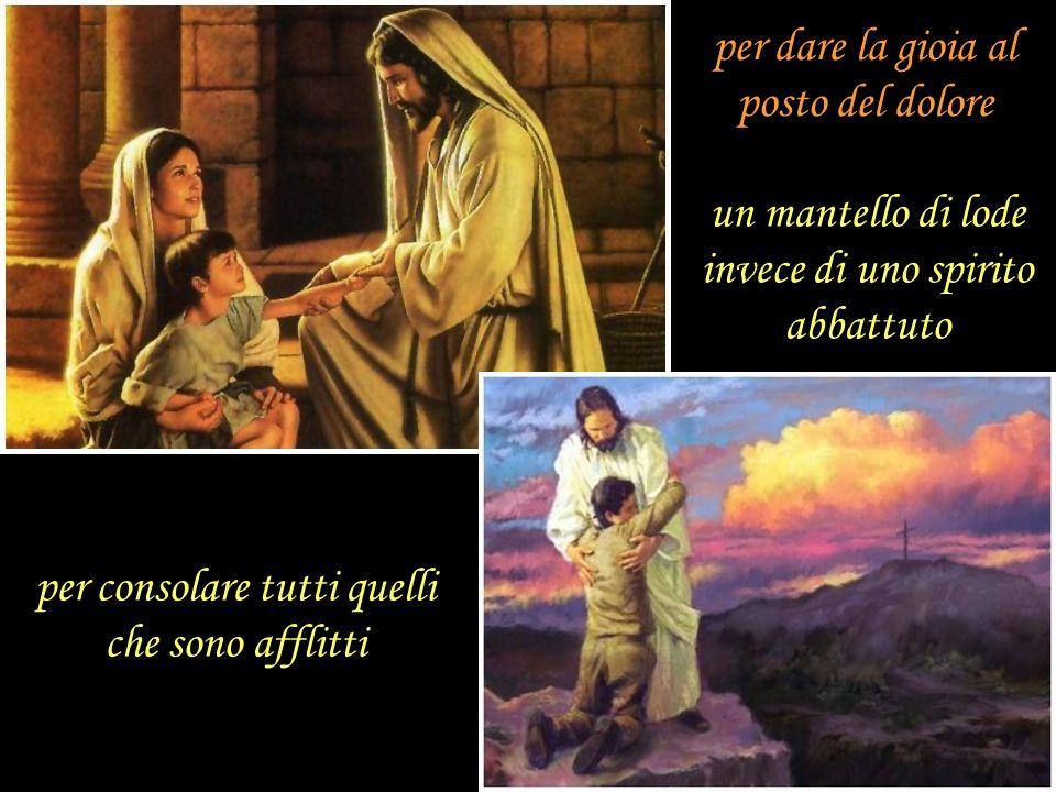 per proclamare lanno di grazia del Signore