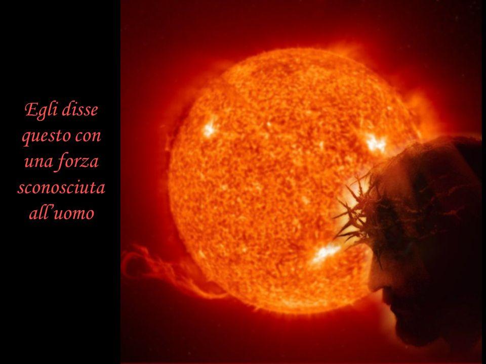 Io sono venuto per darvi la vita la vera Vita la Vita eterna perché Io Sono la Vita e perché chi crede in me non morirà mai !