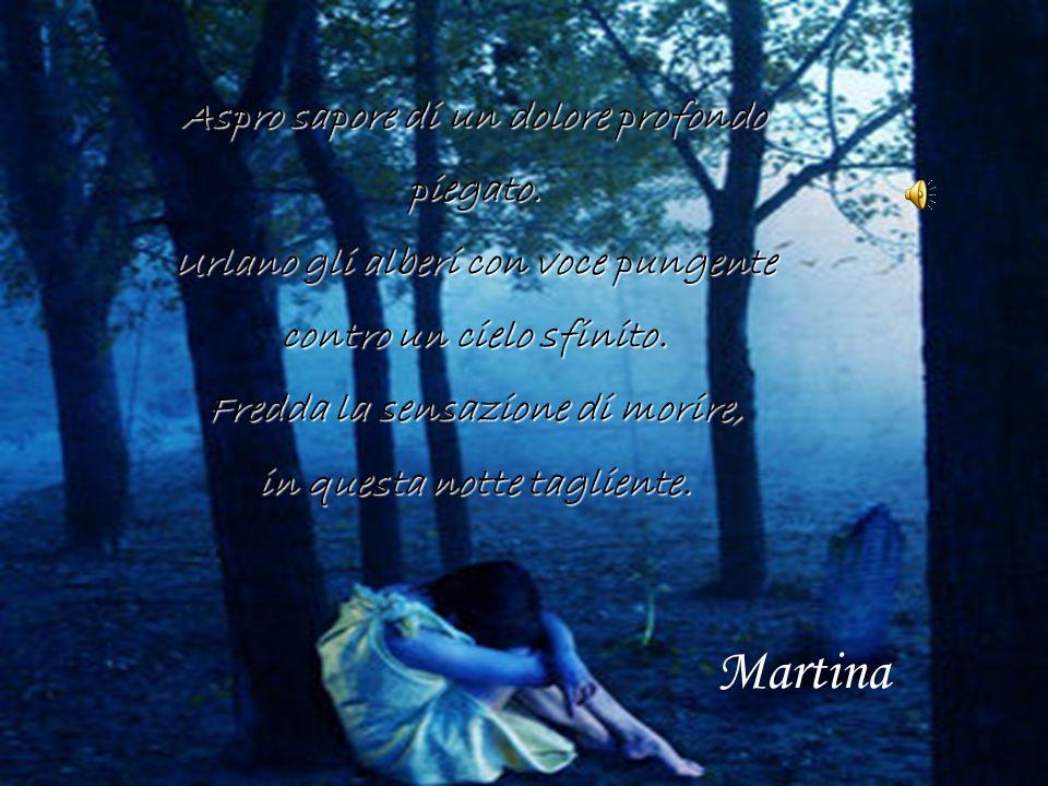 Nella notte nera ricordi come un lampo accecante investono il sentimento ferito dalla menzogna.