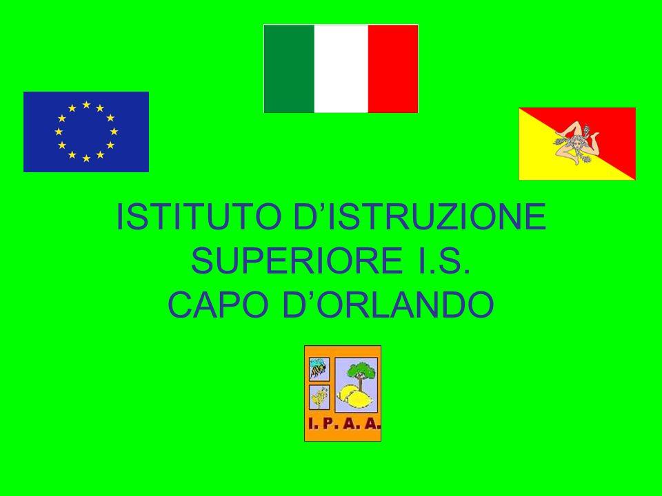 ISTITUTO DISTRUZIONE SUPERIORE I.S. CAPO DORLANDO