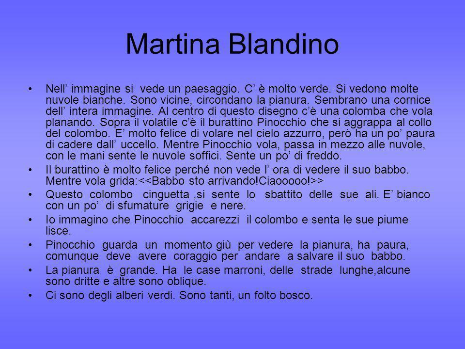 Martina Blandino Nell immagine si vede un paesaggio.