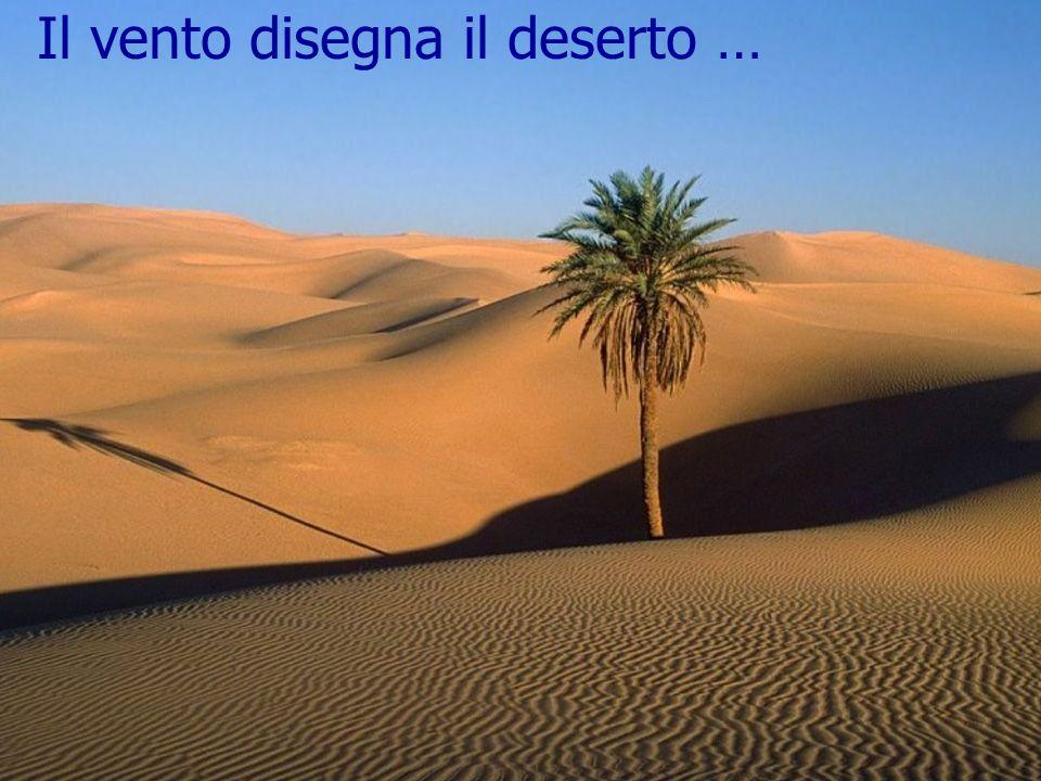 9 Il vento disegna il deserto …