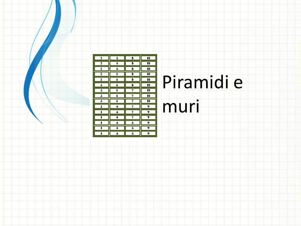 Piramidi e muri