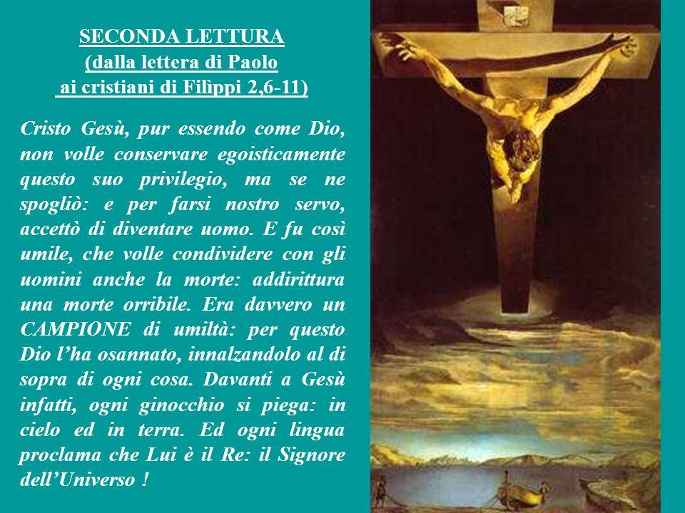 SALMO RESPONSORIALE (Salmo 21,8-9.17-24) Mio Dio, perchè mi hai abbandonato.