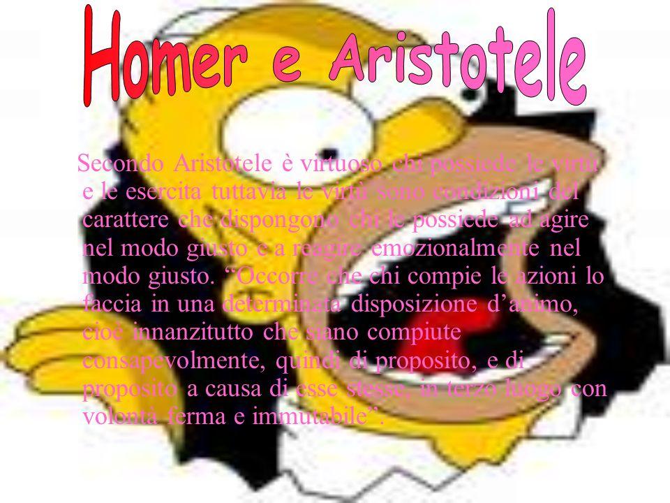 Certo a Homer mancano molte delle qualità che ci piacerebbe vedere nel padre ideale e dimostra una grande abilità nel razionalizzare i desideri e gli interessi a favore del dovere morale, quindi in lui non nascono conflitti laceranti.