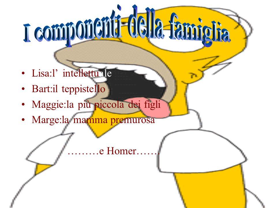 I Simpson propongono davvero la più importante immagine della famiglia nella cultura americana contemporanea, in particolare ci propone un immagine de
