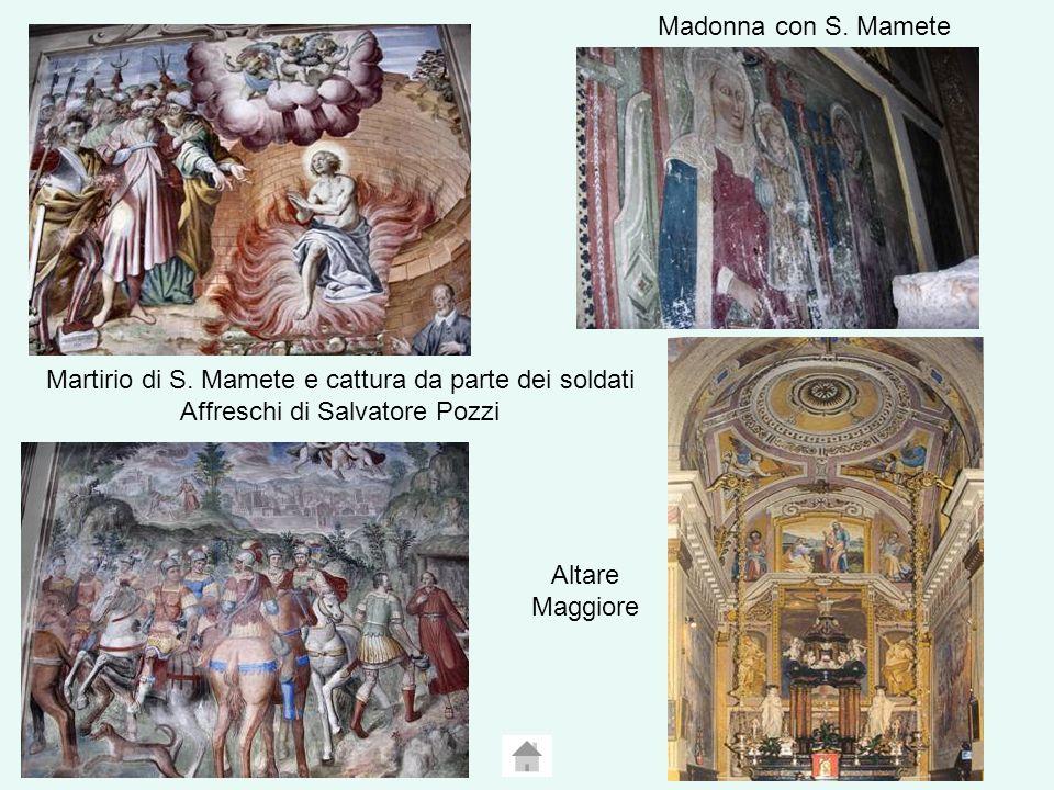 Madonna con S.Mamete Martirio di S.