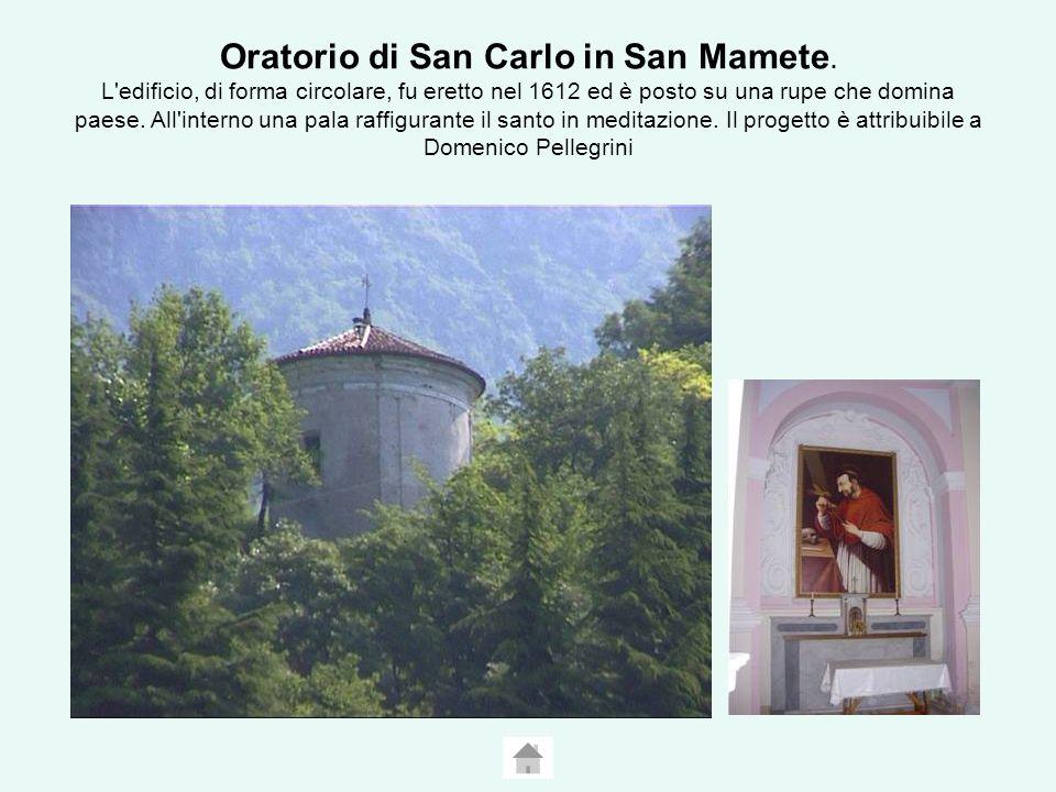 Oratorio di San Carlo in San Mamete.