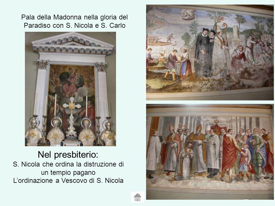 Pala della Madonna nella gloria del Paradiso con S.