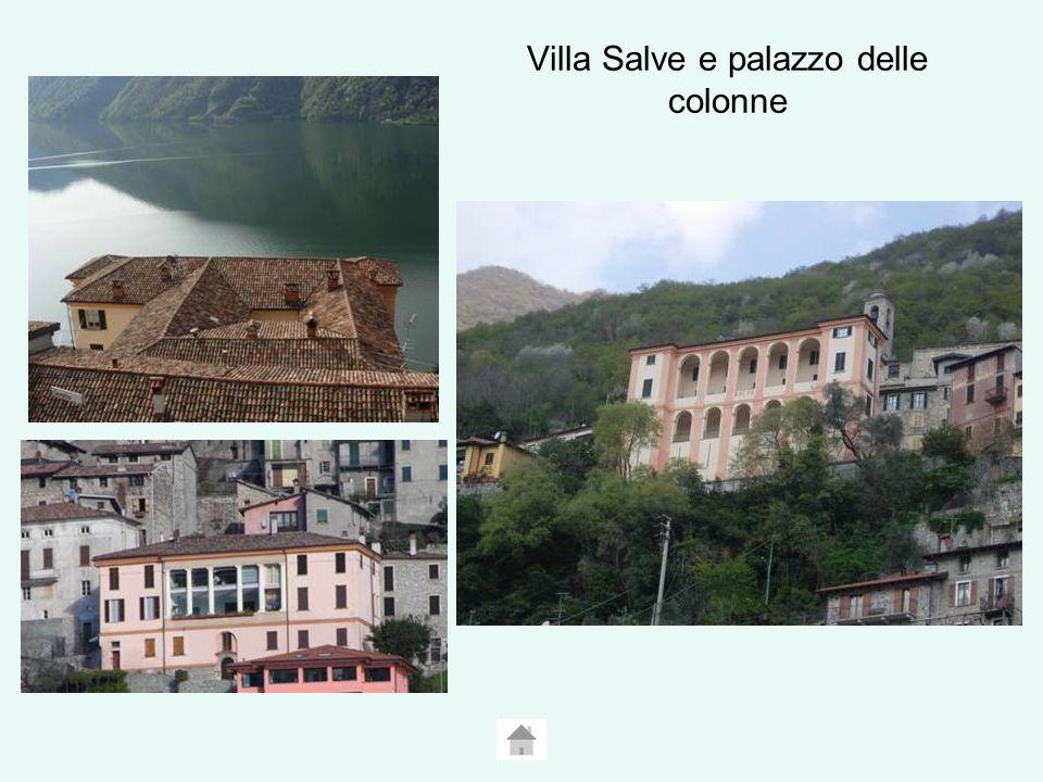 Villa Salve e palazzo delle colonne