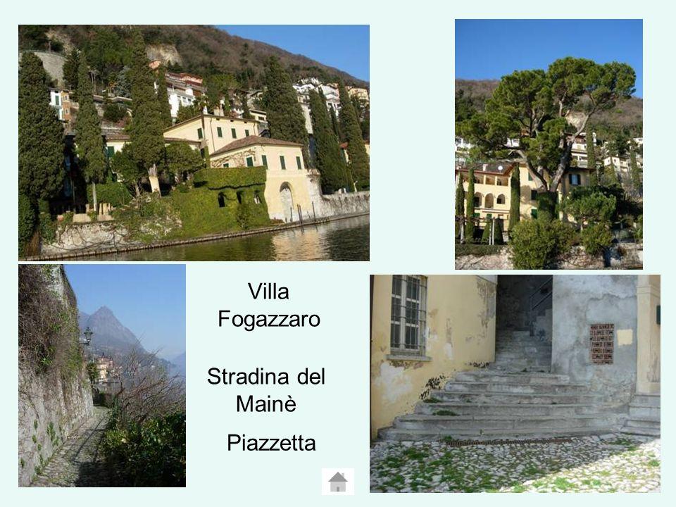Villa Fogazzaro Piazzetta Stradina del Mainè