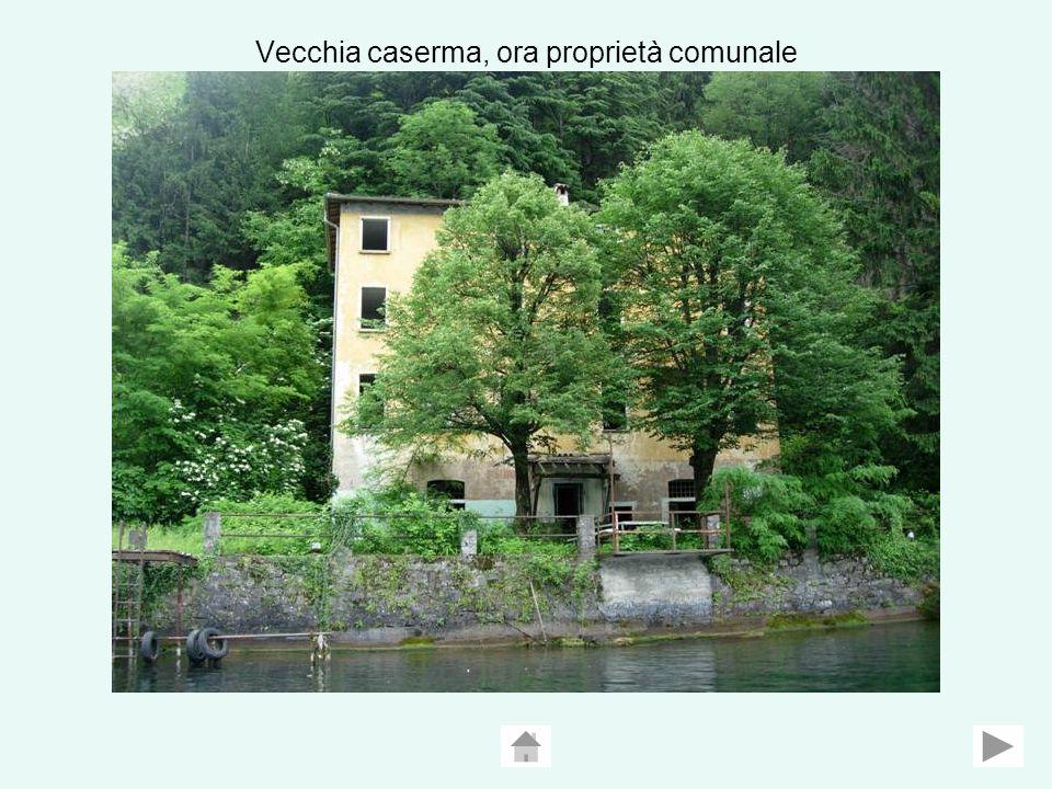 Vecchia caserma, ora proprietà comunale