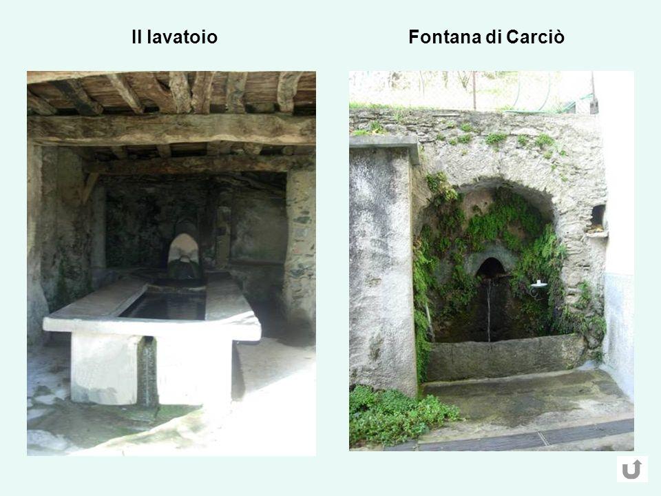 Fontana di CarciòIl lavatoio