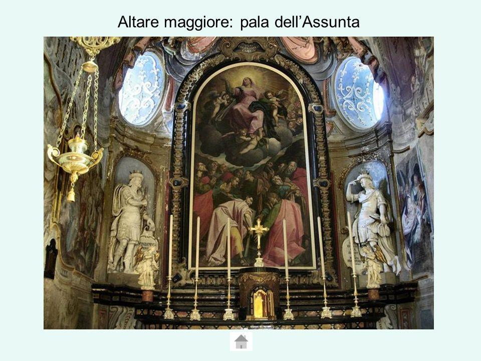 Altare maggiore: pala dellAssunta