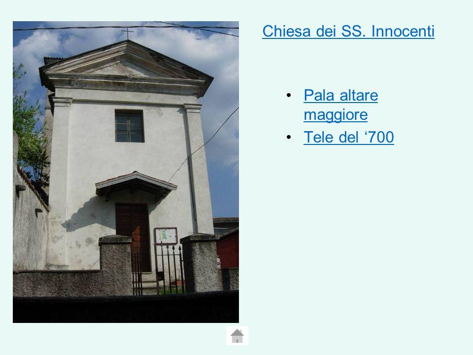 Chiesa dei SS. Innocenti Pala altare maggiorePala altare maggiore Tele del 700