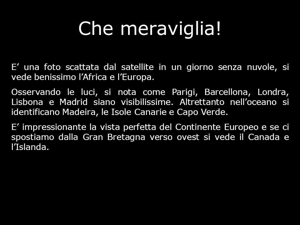 Francia Islanda Italia Continente Europeo Inghilterra Sahara Senso di Rotazione della terra Spagna Oceano Atlantico
