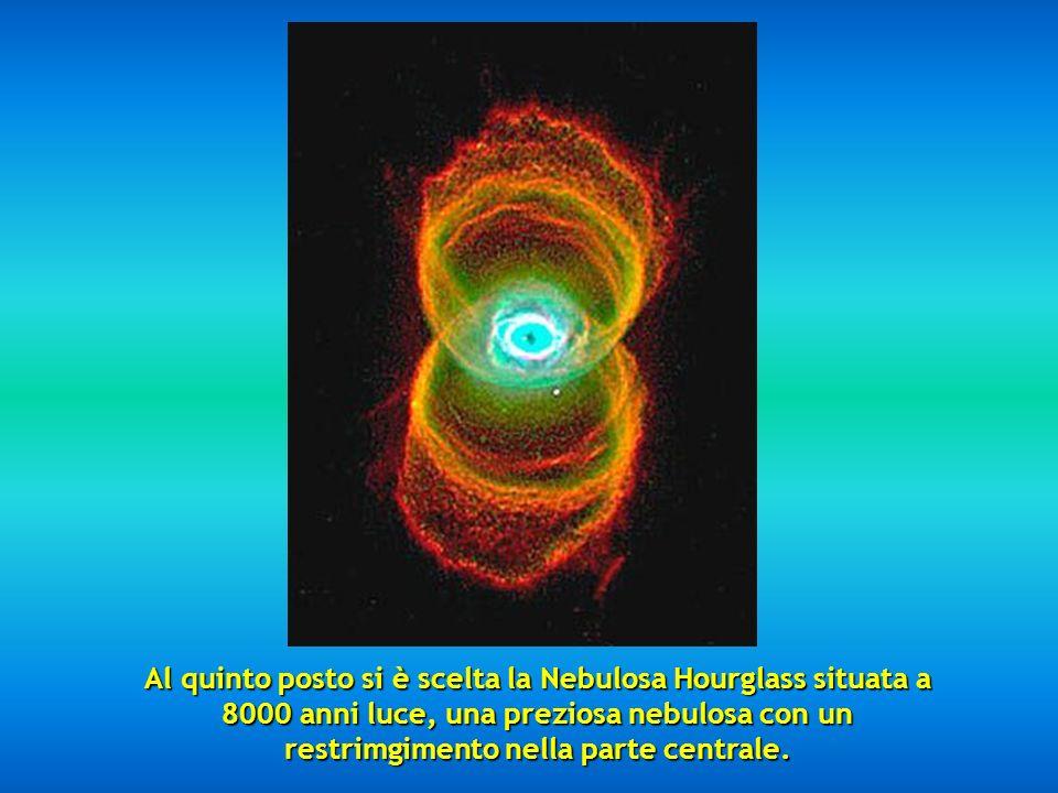 Al quarto posto si è scelta limpressionante Nebulosa dellOcchio di Gatto.