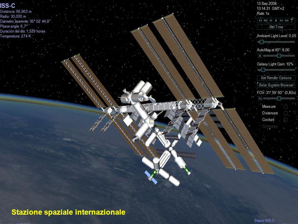 Il Telescopio spaziale Hubble è un telescopio robot localizzato nei bordi esterni dellatmosfera, in orbita circolare intorno alla Terra a 593 km sopra