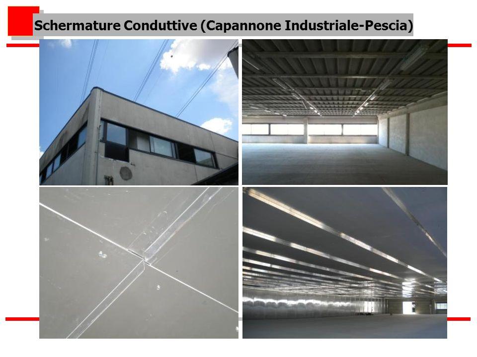 Schermature Conduttive (Capannone Industriale-Pescia)