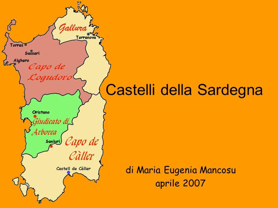 Castelli della Sardegna di Maria Eugenia Mancosu aprile 2007