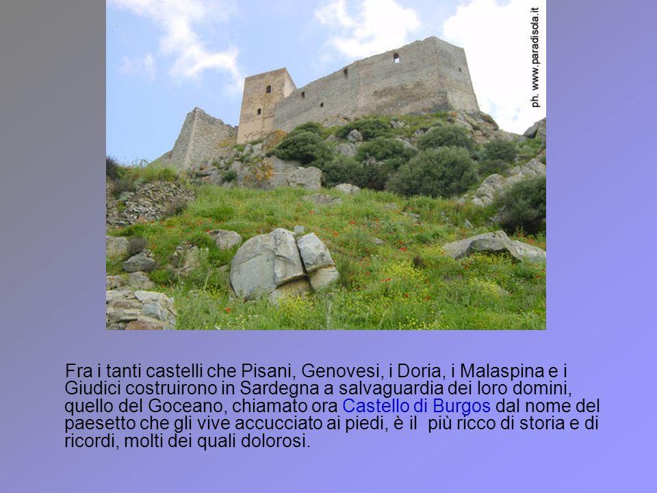 Fra i tanti castelli che Pisani, Genovesi, i Doria, i Malaspina e i Giudici costruirono in Sardegna a salvaguardia dei loro domini, quello del Goceano
