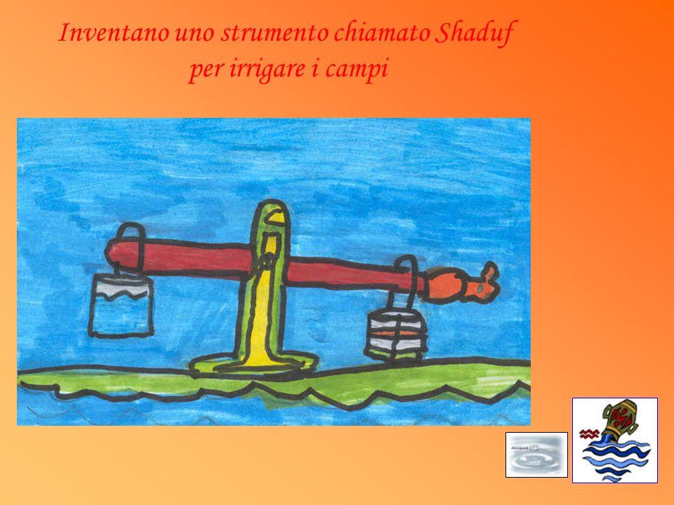 Inventano uno strumento chiamato Shaduf per irrigare i campi