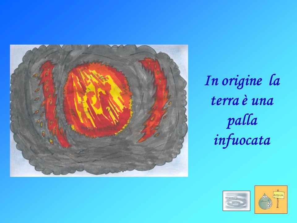 In origine la terra è una palla infuocata